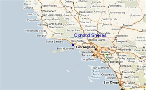 california map oxnard oxnard california map
