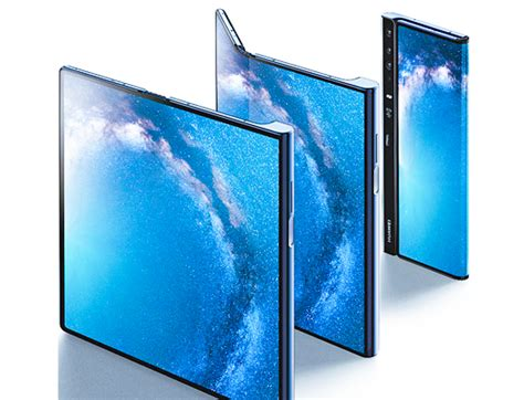 galaxy fold  huawei mate   foldable phones comparison