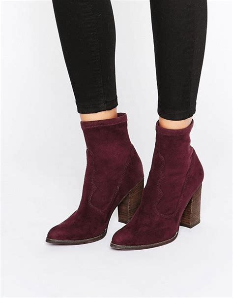 sock ankle boots dolce vita dolce vita cammi suede sock heeled ankle boots