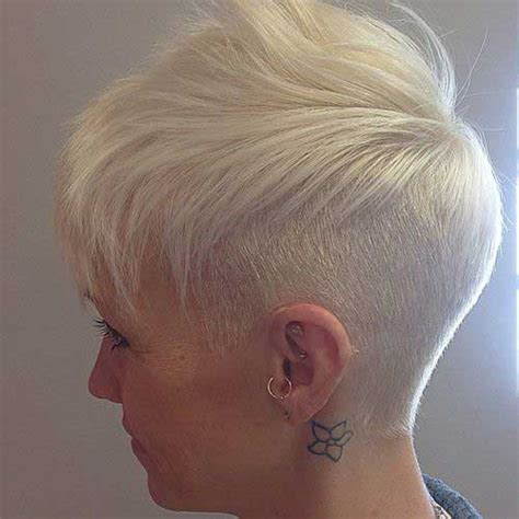 pixie cut with shaved nape 15 shaved pixie haircuts pixie cut 2015