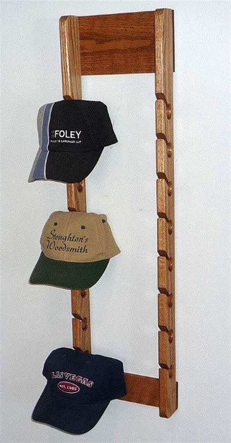 Cap Rack Australia by Wooden Cap Rack Baseball Cap Holder Rack Baseball Cap Display