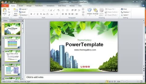 free download template powerpoint 2007 keren template
