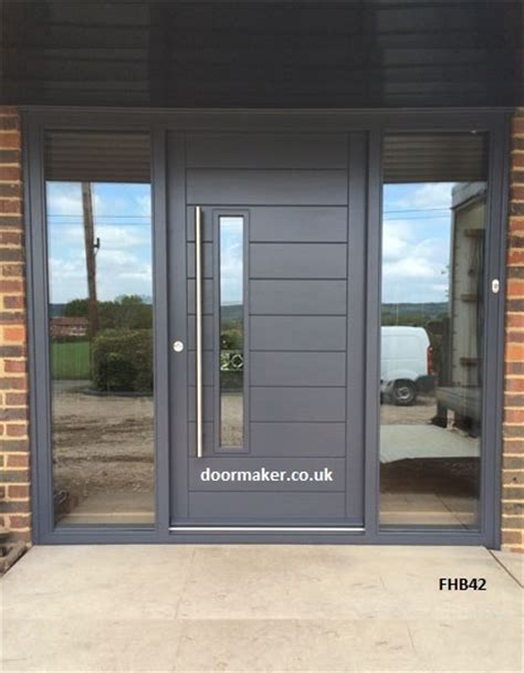 Contemporary Front Doors Oak Iroko And Other Woods Contemporary Modern Front Doors