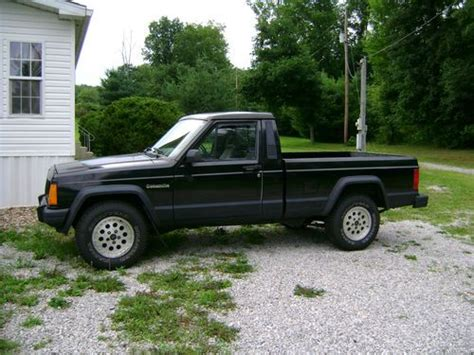 4 Door Jeep Comanche Purchase Used 1989 Jeep Comanche Eliminator Standard Cab