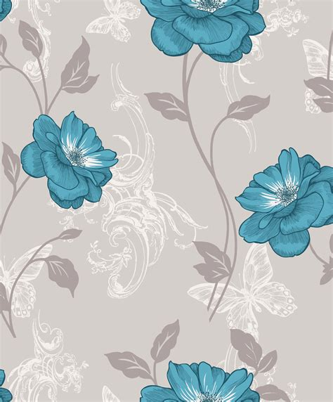 wallpaper grey and teal crown millie teal wallpaper inspired wallpaper