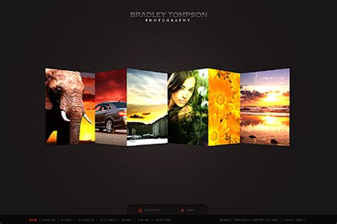 Flash Gallery Template awesome 3d flash website templates entheos
