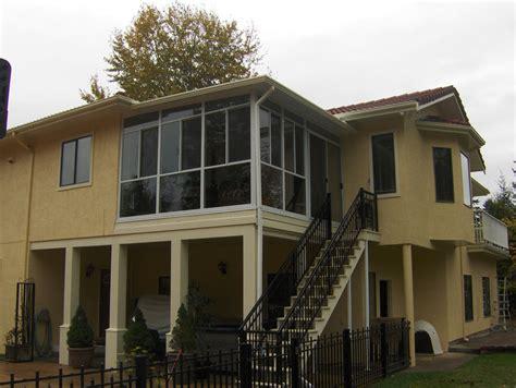 balcony enclosures design options  photo gallery