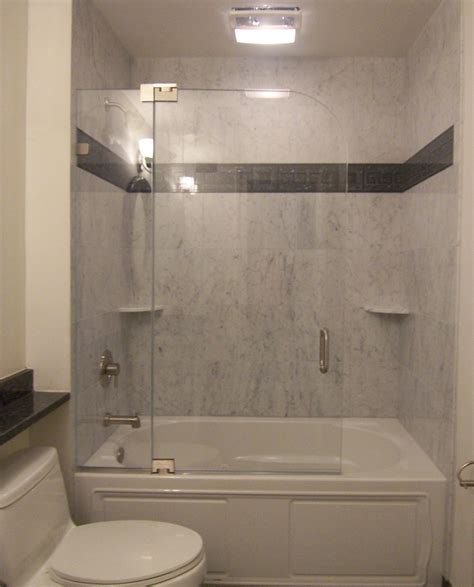 bathtub with shower enclosure frameless shower doors the glass shoppe a division of