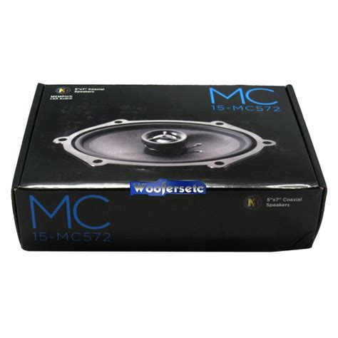 15 mc572 mclass 5 quot x 7 quot coaxial speakers