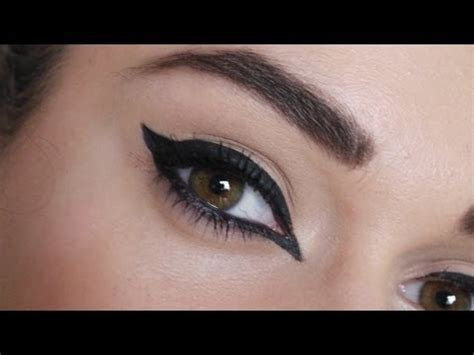 eyeliner tutorial glamrs everyday make up routine i covet thee vidoemo