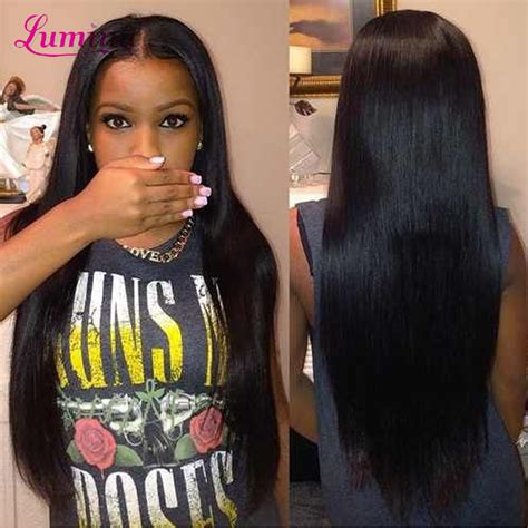 ally express jet black straight rosa peruvian straight virgin hair with ear to ear lace frontal
