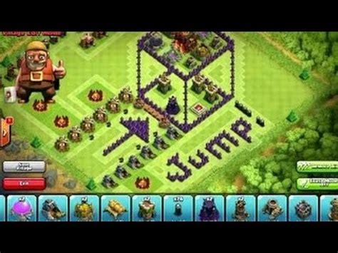 3d Puzzle Coc Clash Of Clans Box troll base clash of clans th7 troll base 3d box defence strategy