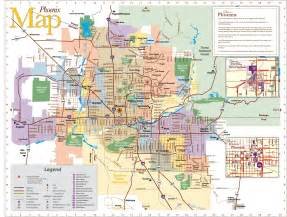 Phoenix Area Map phoenix area map cities