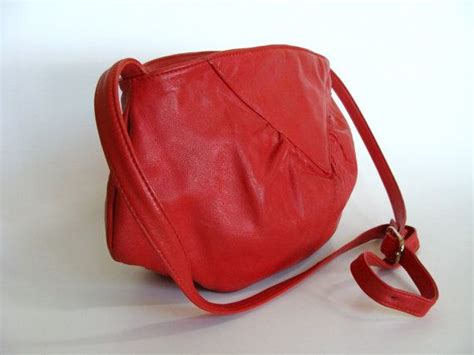 brio purse brio red leather purse shoulder bag cross body bag