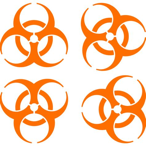 Symbols by Biohazard Iconic Symbol Designed To Be Memorable But