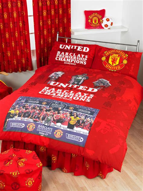 manchester united bedding manchester united compare prices reviews and buy online