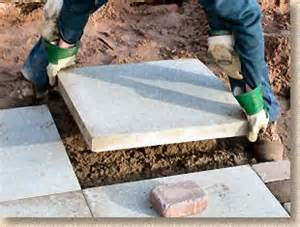 laying patio slabs pavingexpert aj mccormack and how to lay flags and