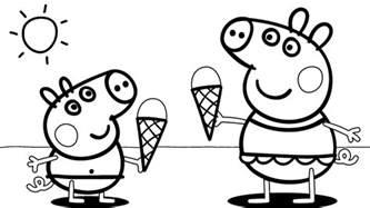 desenhos para colorir peppa pig 45 op 231 245 es para imprimir