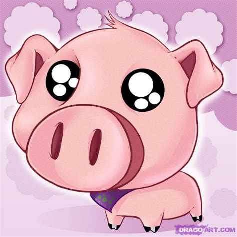 how to a pig how to draw a pig step by step anime animals anime draw japanese anime draw