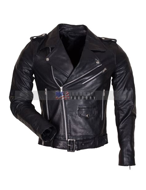 mens black leather motorcycle jacket mens black genuine leather motorcycle jacket