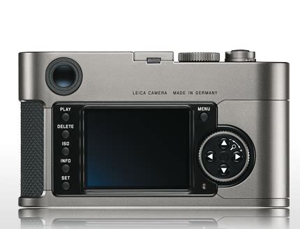 if it's hip, it's here (archives): new leica m9 titanium
