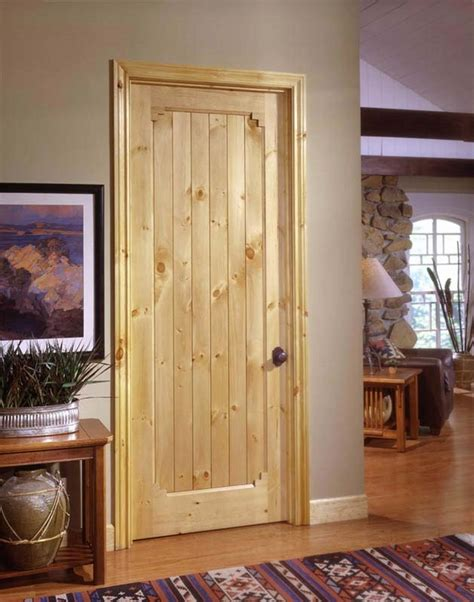 home interior door knotty pine doors beautiful solid pine wood interior doors