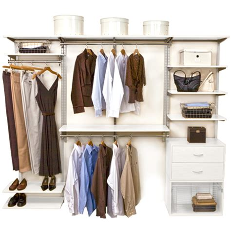 Freedomrail Closet freedomrail closet system white in pre designed