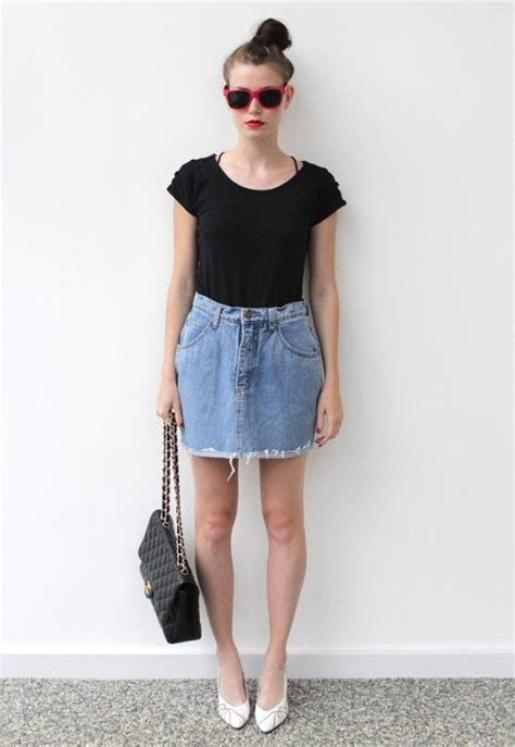 denim skirt ideas for in all occasions