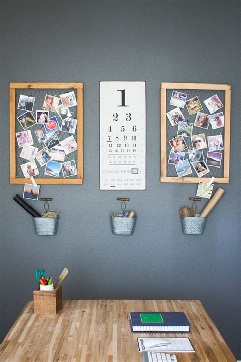 home wall display decor update in home office modish main