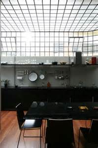 industrial loft with casement windows and look at the