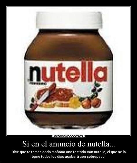 imagenes hipster de nutella si en el anuncio de nutella desmotivaciones