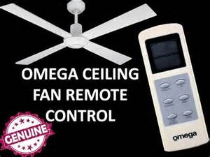 genuine omega ceiling fan remote part remotelcd