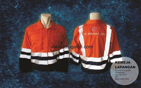 Seragam Lapangan Bahan Katun Lacos contoh desain kemeja lapangan pt andhika jayakonveksi surabaya kaos seragam dan pabrik jaket