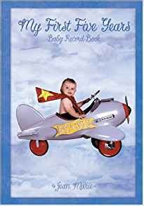 Baby Record Book My 3 Years baby circus my five years flight baby record book