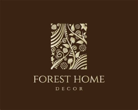 home decoration logo forest home decor designed by dalia brandcrowd
