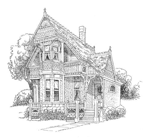 top 80 house coloring pages free coloring page