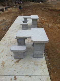 concrete shooting bench plans 1000 images about shooting range on pinterest shooting