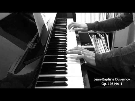 Buku Piano Duvernoy Op 176 duvernoy 25 elementary studies op 176 no 1 piano