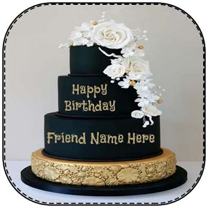 name on birthday cake for android free download and