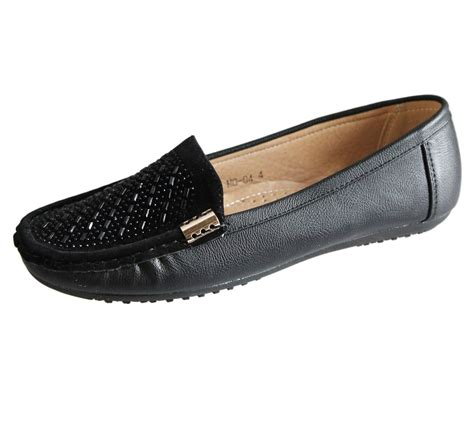 flat shoes ebay womens loafers flat casual comfort diamante summer