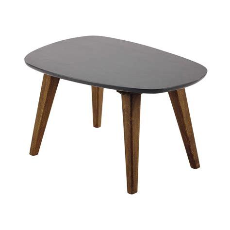 table en bois vintage table basse exterieur grise ezooq