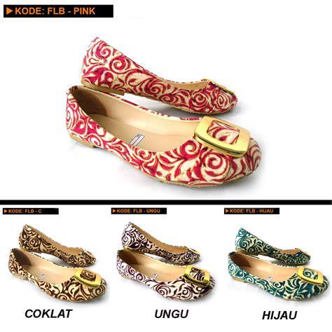 Sepatu Flat Shoes Lazara Kode Lls 01 C grosirsepatubagus toko sepatu bagus grosir dan eceran sepatu flat batik
