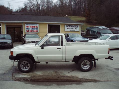 1985 Toyota 4x4 For Sale Used Cars Clinton Auto Financing Oak Ridge Caryville