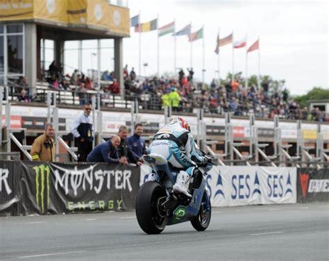 Isle Of Man Elektromotorrad elektro motorrad made in austria bei der tourist trophy