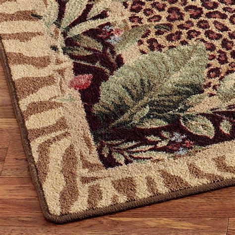 animal print accent rugs jungle safari animal print area rugs