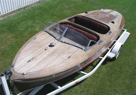 barrel back boat kits motart 1942 19 chris craft custom runabout