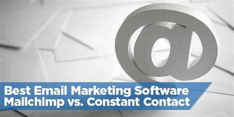 mail chimp vs constant contact