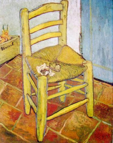 sedia gogh gogh nella villa dei capolavori la sedia di vincent