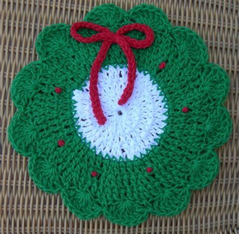 crochet christmas tree potholder pattern christmas dishcloth pattern crochet