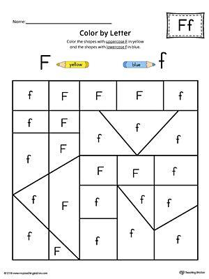 letter f worksheets picture letter match letter f worksheet color 1361